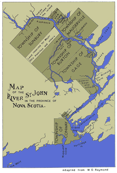 Atlantic Canada Virtual Archives St John River In The Province Of