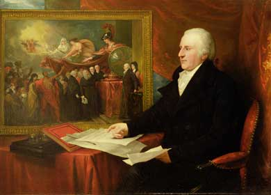 'John Eardley Wilmot' by Benjamin West